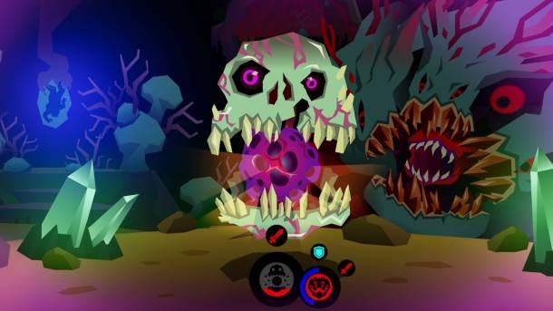 Severed Skull Battle