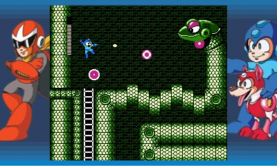 Mega Man Legacy collection | Snake Man's Stage