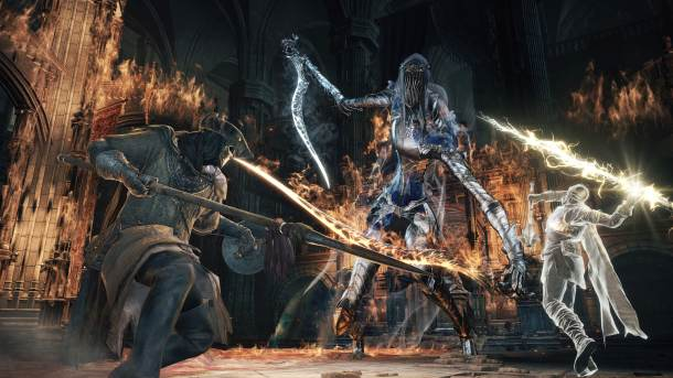 Dark Souls III | One of the few challengng bosses I fought and was quite enjoyable