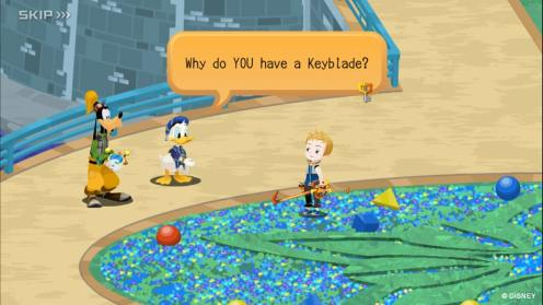 KINGDOM HEARTS Unchained χ | 11