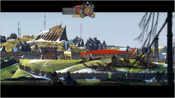 The Banner Saga 2 Banner Shot
