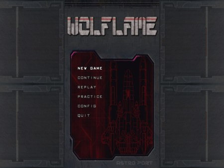 Wolflame | Title Screen
