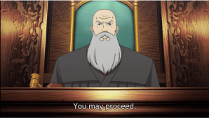 ace attorney | anime judge