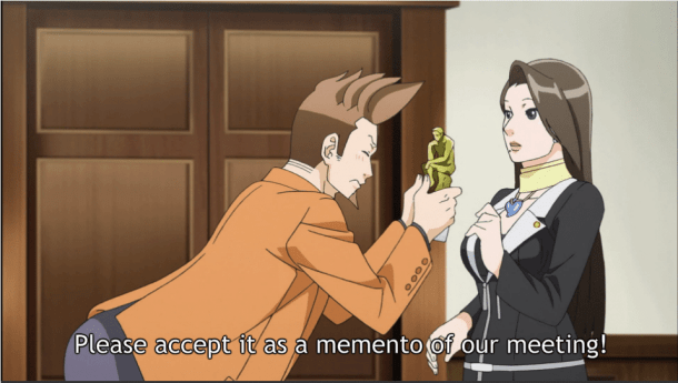 ace attorney | Larry