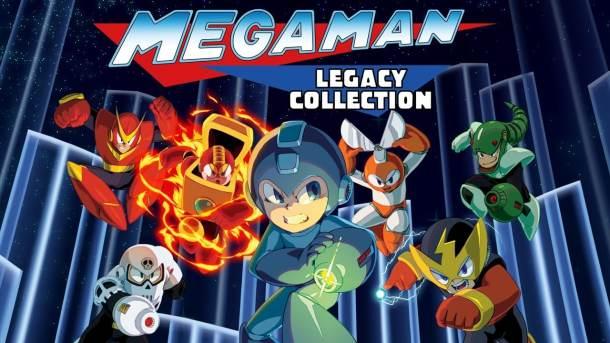 Mega Man Legacy collection | Logo