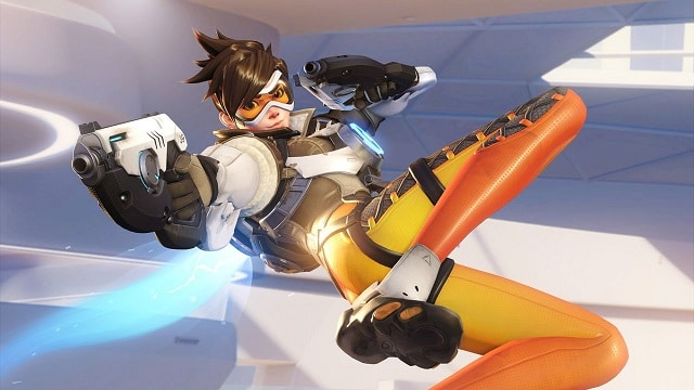 overwatch | tracer pose 2