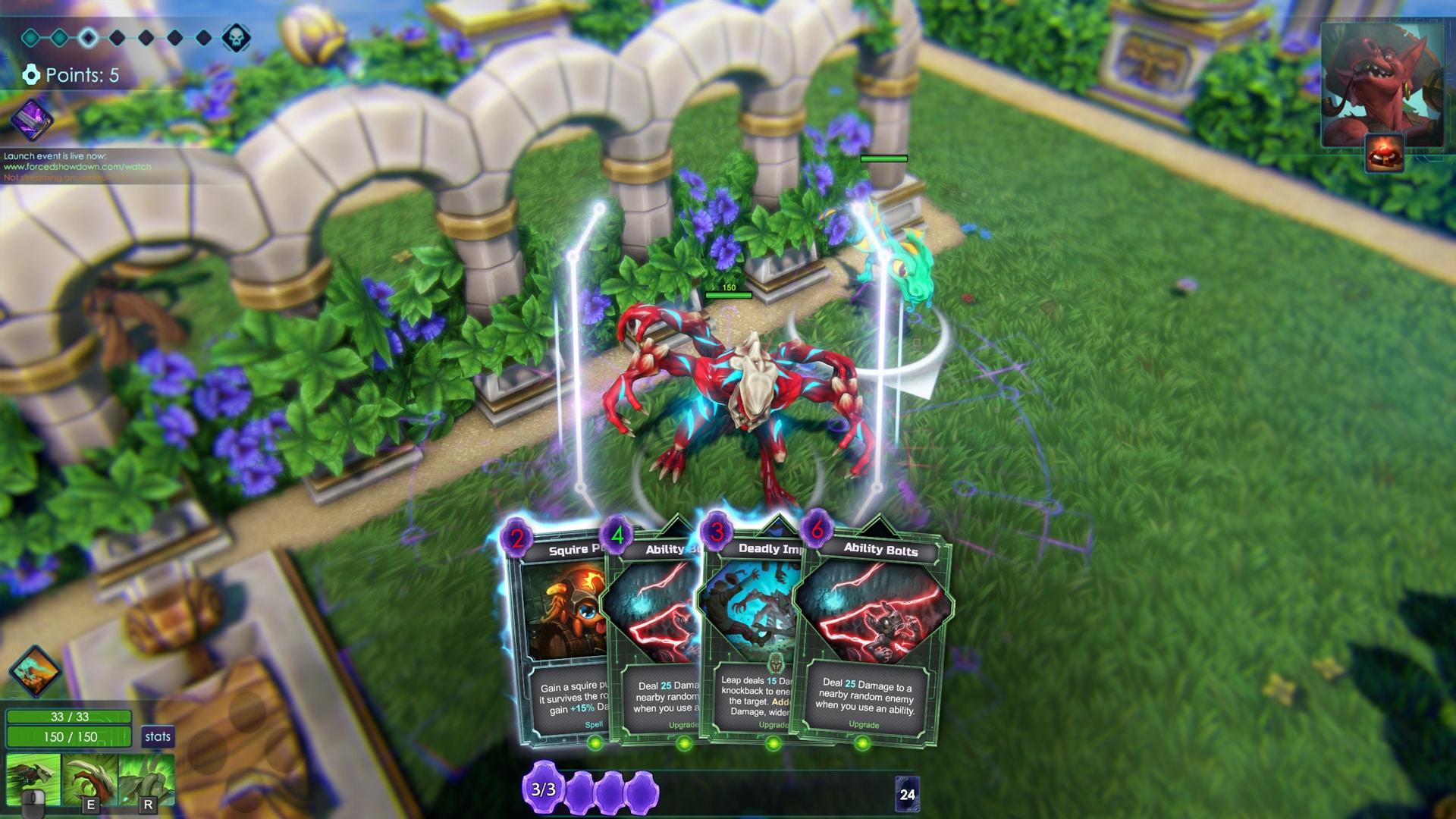 Forced Showdown Gameplay review: forced showdown - oprainfall