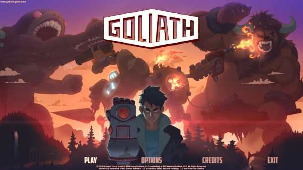 Golaith | Title Screen