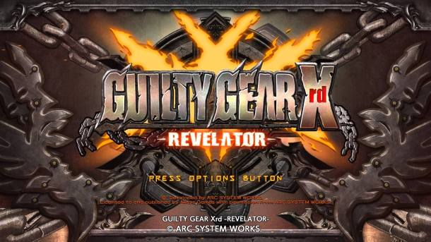 Guilty Gear Xrd Revelator Title Screen
