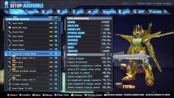 Gundam 3 | Breaker Parts