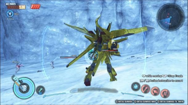 Gundam Breaker 3 | Combat