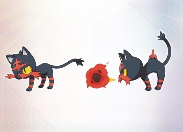 Pokémon Sun and Moon Litten