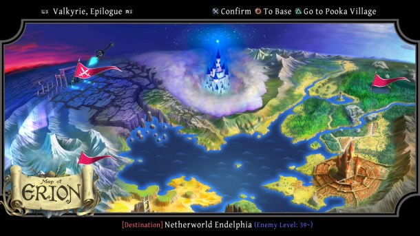 Odin Sphere Leifthrasir | World Map