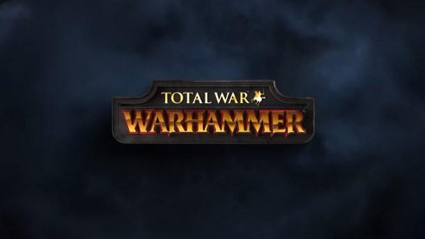 Total War Warhammer Title Screen