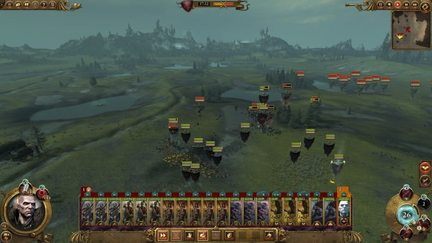 Total War Warhammer | Vampire Lord Battle