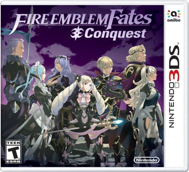 fire emblem fates conquest - boxart