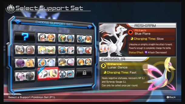 Pokkén Tournament - Support Sets