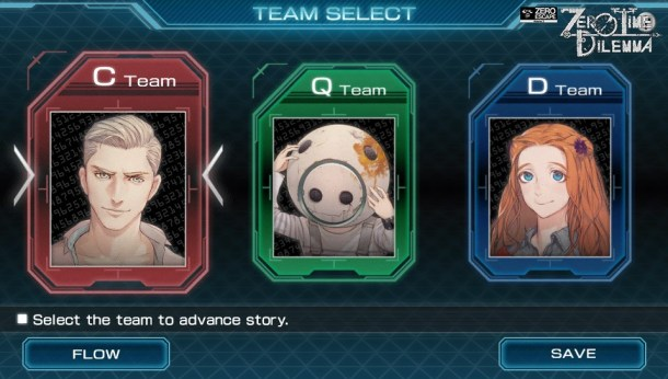 Zero Time Dilemma | Teams