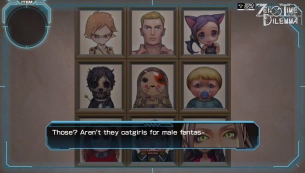 Zero Time Dilemma | Catgirls