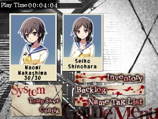 Corpse Party 3DS | Naomi & Seiko