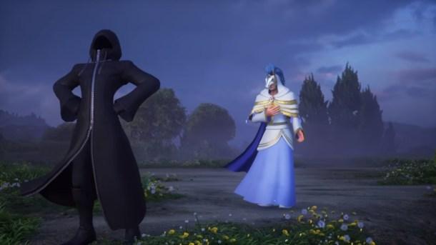 Kingdom Hearts Chi Back Cover