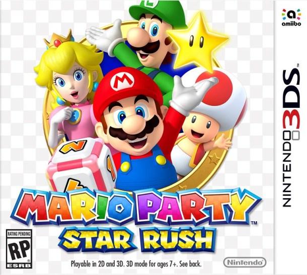 Mario Party: Star Rush Box Art