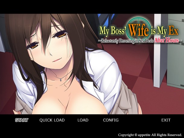 My Boss' Wife is My Ex | Title Screen