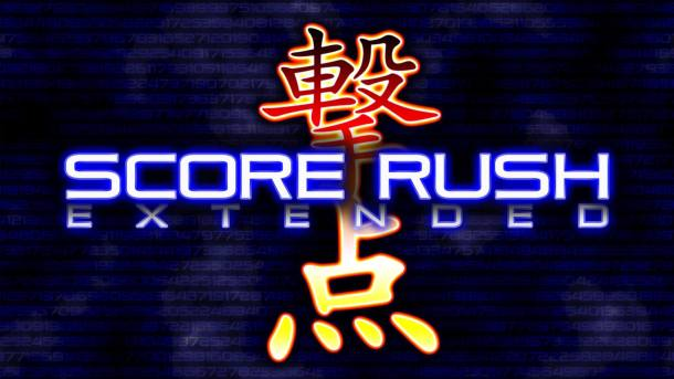 Score Rush Extended Title Screen