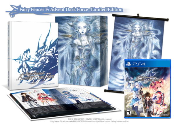 The Fairy Fencer F: Advent Dark Force Limited Edition