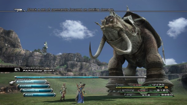 Final Fantasy | FFXIII Battle