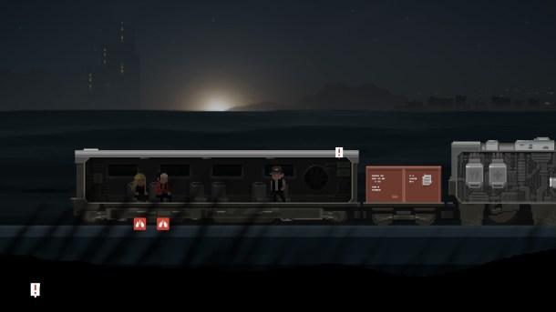 final station - train