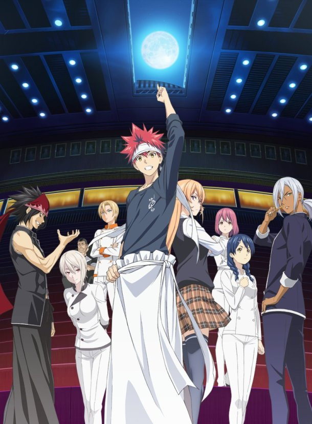 Food Wars! The Second Plate | Key Visual