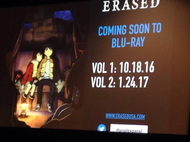 Erased Blu Ray