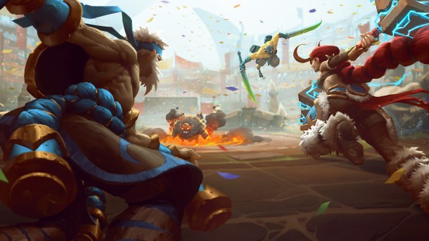 Battlerite  screen