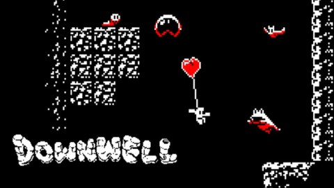 Downwell Featured