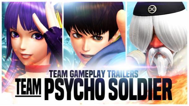 KoF XIV Team Psycho