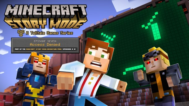 Minecraft: Story Mode Episode 7 key art