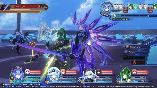Megadimension Neptunia V-II | Ascended Forms