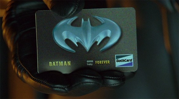 Bat Credit card | Doug Walker