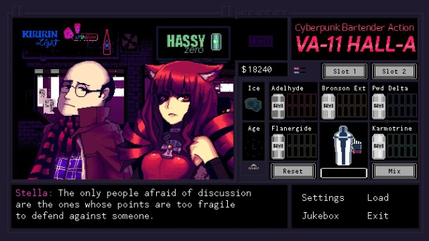 VA-11 HALL -A | Dialogue