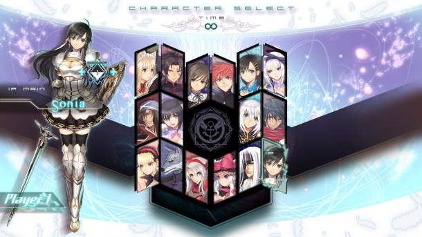 Blade Arcus | Character Select