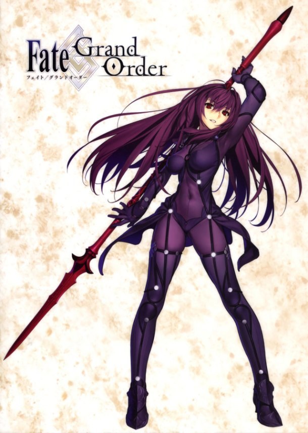 Fate/Grand Order | Scathach Illustration