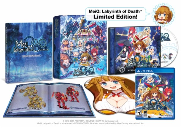 MeiQ: Labyrinth of Death LE