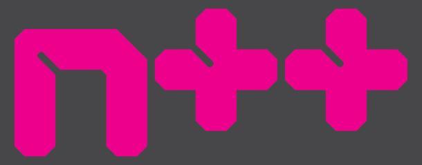 N plus plus logo