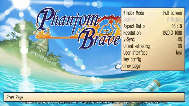 Phantom Brave PC | Changes