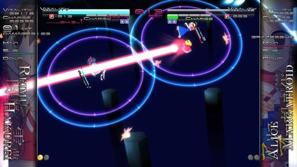 Touhou Genso Rondo: Bullet Ballet | Laser Beams
