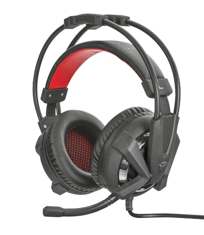 Trust Illuminated GXT 353 Illuminated Bass Vibration Headset