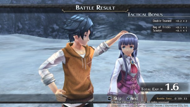Trails of Cold Steel II | Rean Headpats