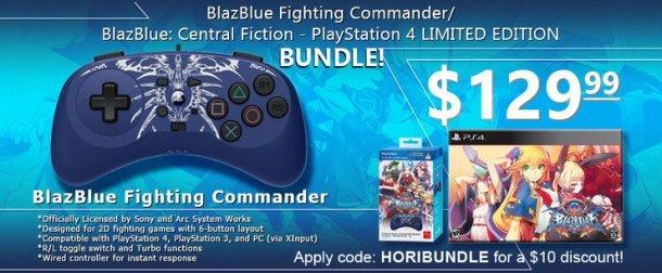 BlazBlue: Central Fiction Fighting Commander