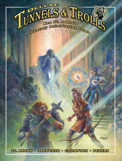 Tunnels and Trolls deluxe cover